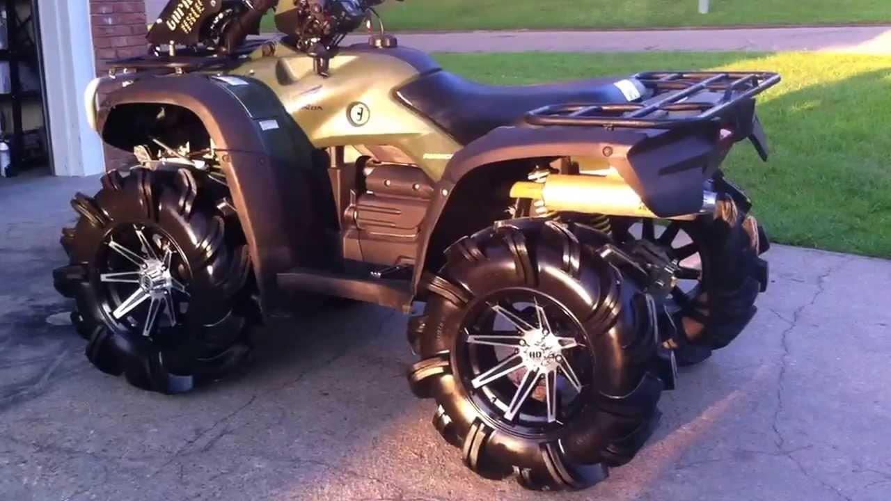 2007 Honda Rubicon 500 Mud Machine Youtube