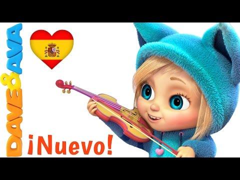 💤 Canciones infantiles   Oh Pequeñín   Video Infantiles en Español de Dave y Ava 💤
