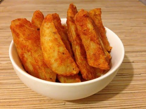 Картофельные дольки с хрустящей корочкой