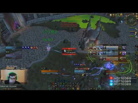Mage Warlock Druid vs WMP SHOWDOWN! 3v3 Rank 1  Resto Druid Arenas with Hotted