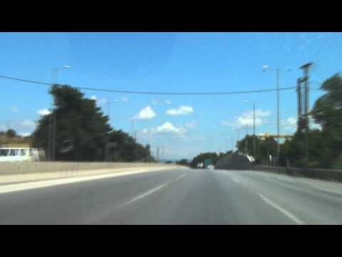 Greece: Thessaloniki bypass & Highway 2 direction east (Kavala)