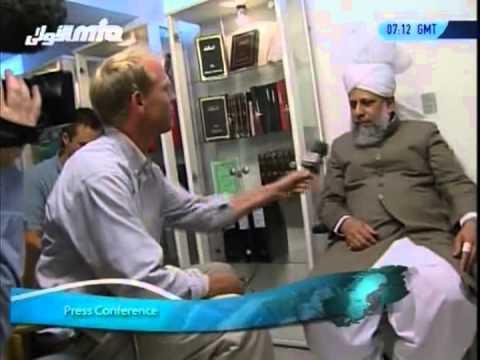 Tour of Scandinavia - Arrival In Denmark on 6th Sep 2005 - Islam Ahmadiyya