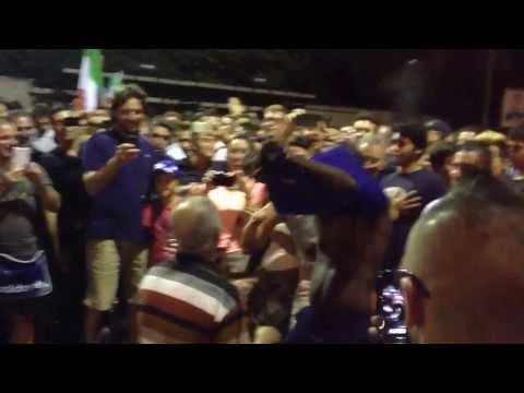 Post Italia-Bulgaria: ecco cosa accade fuori lo stadio Renzo Barbera di Palermo.