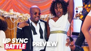 Jermaine Dupri Is All Swag On Mariah Carey S Shake It Off Lip Sync Battle Preview