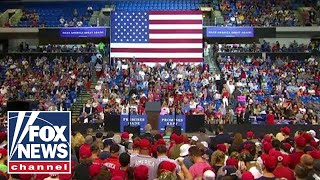 Watch Live: Trump holds 'MAGA' rally in Topeka, Kansas