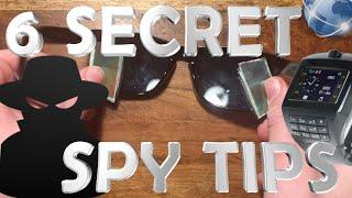 6 Easy Spy Tricks With Household Items
