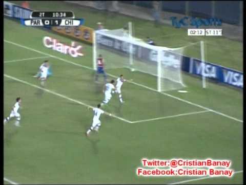 Paraguay 1 Chile 2  (Adn Radio Chile) Eliminatorias Brasil 2014 Los goles (7/6/2013)