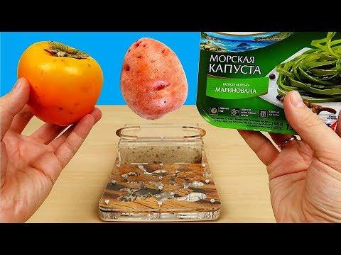 Сок из Морской капусты, Хурмы и Картошки! Реакция муравьев на соки! Бедная соковыжималка. alex boyko