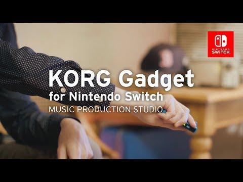 KORG Gadget for Nintendo Switch | PLAY GAMES. MAKE MUSIC.