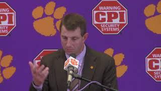TigerNet: Dabo Swinney FSU post game press conference