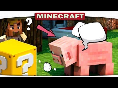 ч.02 - СВИНКА УМЕЕТ ЛЕТАТЬ???? (Minecraft Lucky Sky Wars)