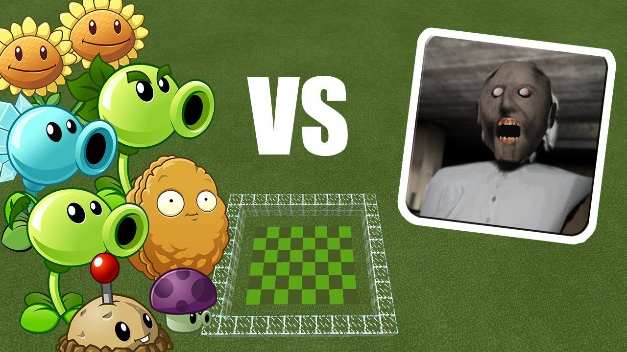 Plants vs Granny | Minecraft PE