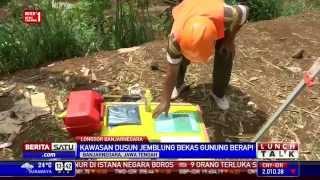 Tanah Dusun Jemblung yang Longsor Bekas Gunung Berapi