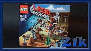 Обзор LEGO Movie Getaway Glider Лего 70800