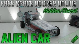 GTA 5 Online How to Get the Space Docker - Grand Theft Auto 5 Secret & Rare Space Car - TUTORIAL
