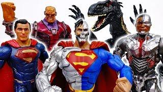 Superman Met Cyborg~! Cyborg Superman, Defeat The Villains - ToyMart TV