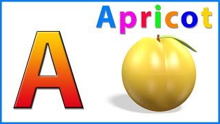 Learn Alphabets & Letters | ABC Song | A For Apple | Nursery Rhymes & Poems For Kids