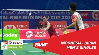 SF MS Anthony Sinisuka GINTING INA vs. Kento MOMOTA JPN BWF 2019