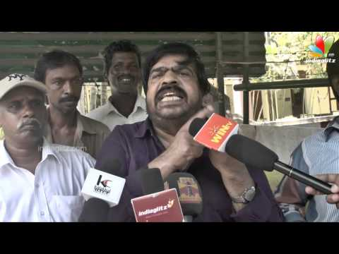 T Rajendar speech after casting his vote | Political Comedy...