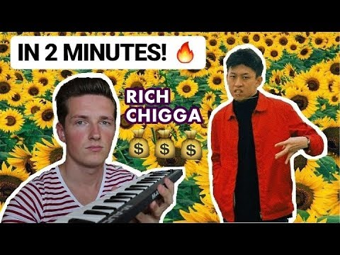"How Rich Chigga`s ""GLOW LIKE DAT"" was made in 2 minutes"