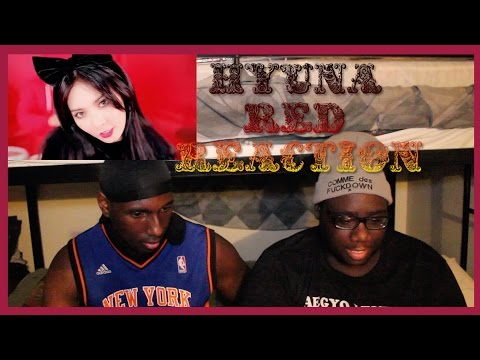 Black People React To Kpop: Hyuna - '빨개요 (red)' Mv Reaction video