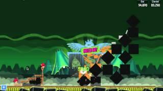 Angry Birds Friends Green Day Walkthroughs (Facebook)
