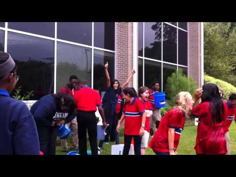 Lisa academy ALS ice bucket challenge