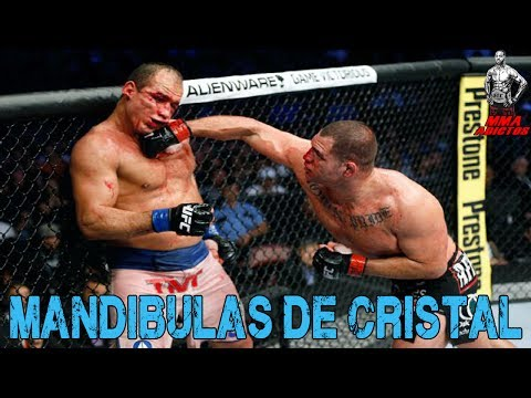PELEADORES CON MANDIBULA DE CRISTAL | MMA ADICTOS