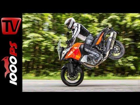 KTM 1190 Adventure Stunts   Stuntfriday Action   Wheelie Drift Stoppie