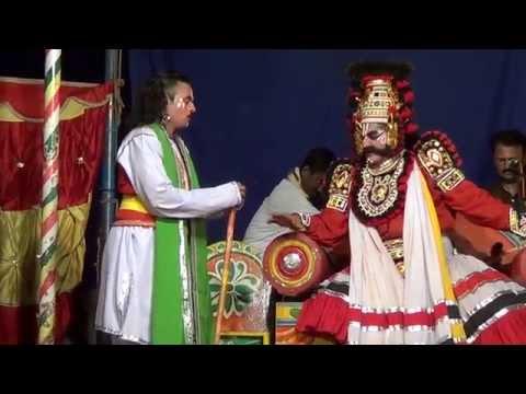 Yakshagana -- Maya Mohini - 2 - Hasya video