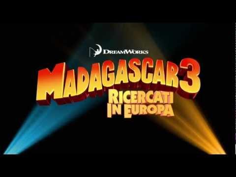 Madagascar 3 Ricercati in Europa (2012) Secondo trailer italiano ufficiale [HD]