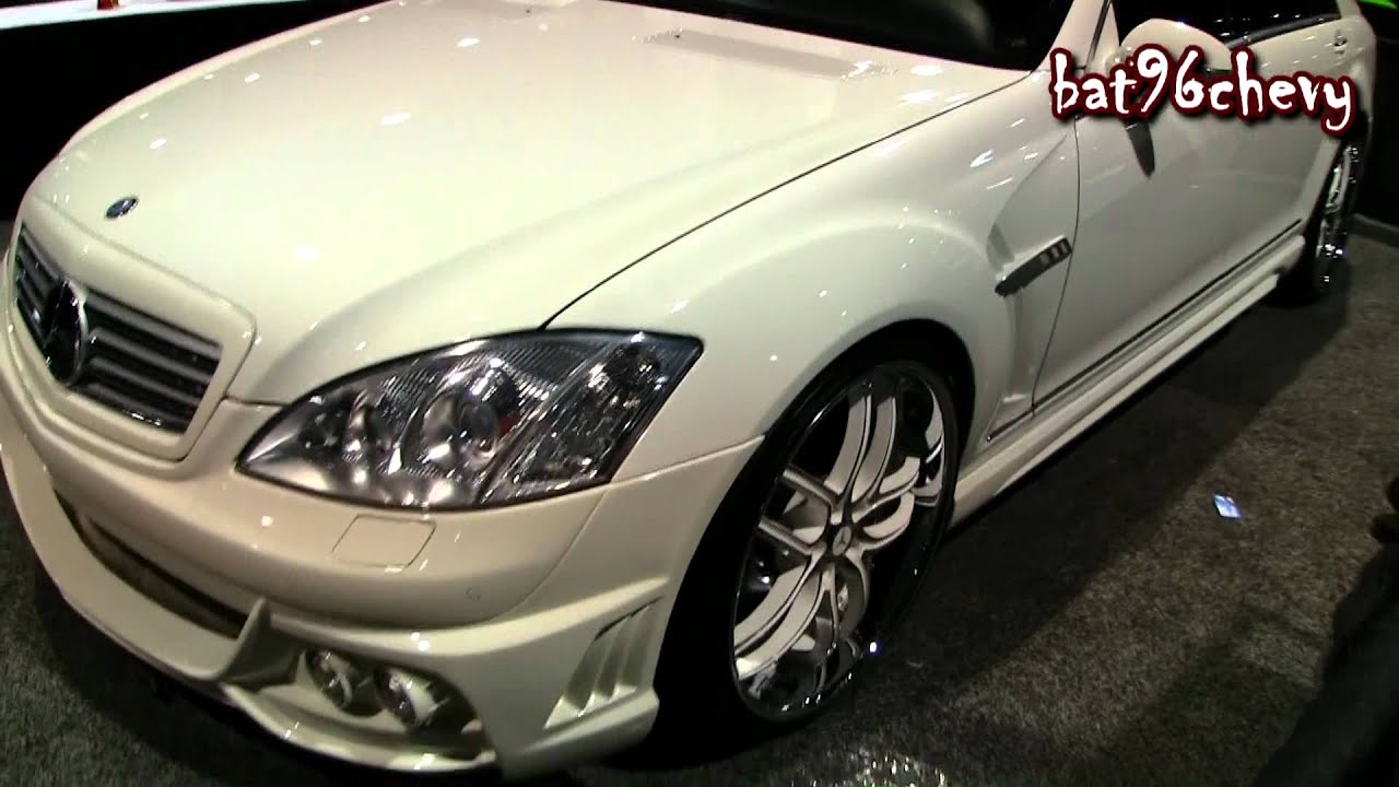 2012 Mercedes Benz S550 W Body Kit On 22 Quot Asanti