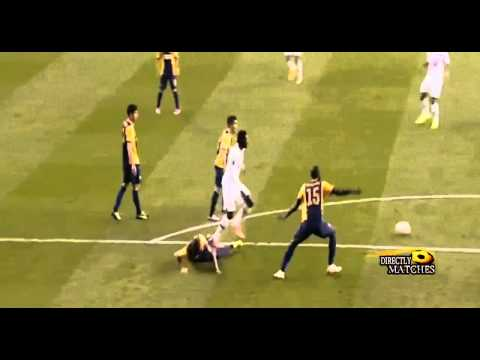 Erik Lamela Amazing Rabona Goal. (English Commentary)