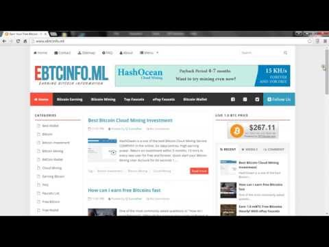 How Can I Earn Free Bitcoins Fast Ebtcinfo Ml