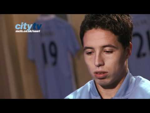 Manchester City's Samir Nasri exclusive interview (French)