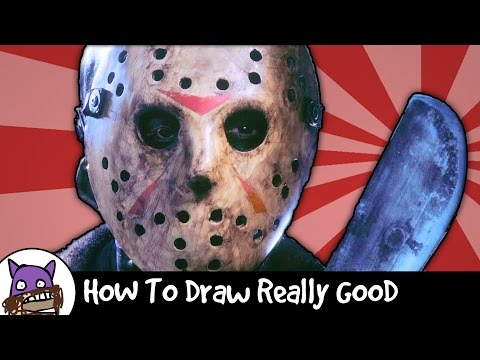 How To Draw Really Good - Freddy Krueger - Friday The 13th