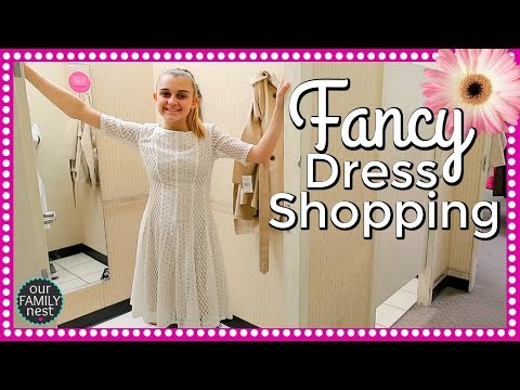 FANCY DRESS SHOPPING! SHE'S SO PICKY!