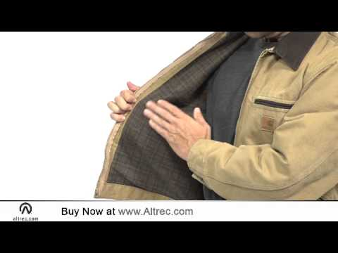 Video: Men's Sandstone Detroit Jacket - Blanket Lined