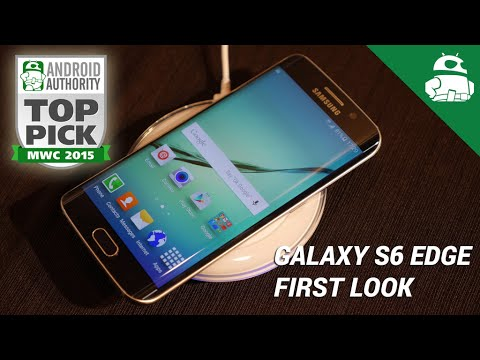 Samsung Galaxy S6 Edge First Look!