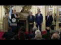 El presidente Mauricio Macri encabeza acto de Plan de Inversiones