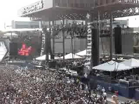Ozzfest 2008. Dimebag tribute
