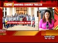 Anushka Sharma gets trolled for posing with Indian cricket team