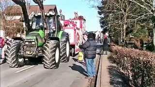 Auf grosser Tour zum Karnevalszug Kall in der Eifel – 2015