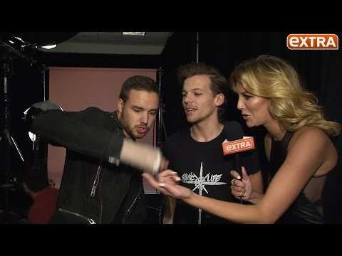 Backstage at iHeartRadio: One Direction's Liam Payne on How He Injured His Hand