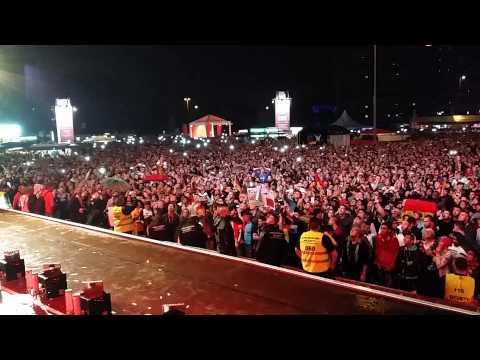 WM-Finale (Sieg) Hamburg Public Viewing Stimmung