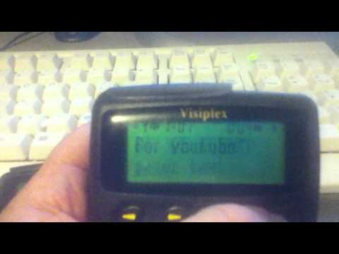 pager encoder and transmitter tests for amateur radio paging