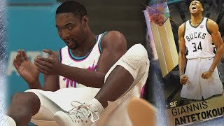 NBA 2K19 My Team - No Halftime Reports! Galaxy Opal Giannis!
