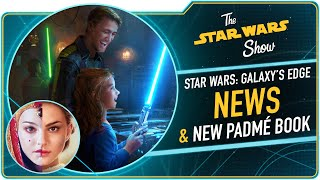 Queen's Shadow Author E.K. Johnston, Plus Star Wars: Galaxy's Edge News