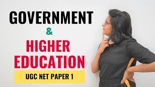 NTA UGC NET Paper 1- Government & Higher Education (Crash Course)