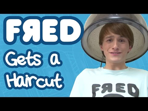 Fred Gets A Haircut video